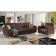 AMBER - Set sofa + armchair