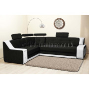 KAYENE BIS - Corner Sofa Bed with LED