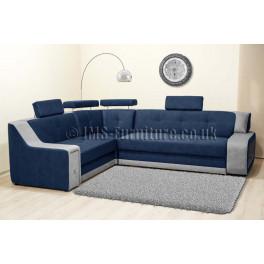 KAYENE BIS - Corner Sofa Bed with LED