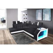 LEEGO - Corner Sofa Bed with LED