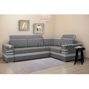 RODEO - Corner Sofa Bed with LED