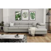 ANTONY - GREY -   Corner Sofa Bed