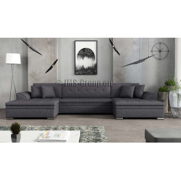 VINCI - fabric Sawana 05 - Corner Sofa Bed
