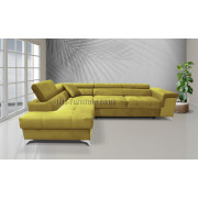 ERIC - fabric Kronos11 - Corner Sofa Bed