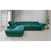 ERIC - fabric Kronos19 - Corner Sofa Bed