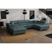 BRUNO - fabric Cover 70 - Corner Sofa Bed