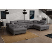 BRUNO - fabric Sawana 21  - Corner Sofa Bed