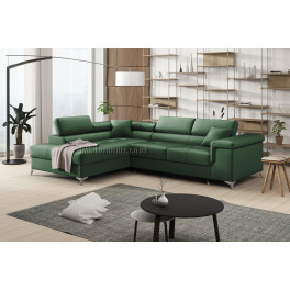 ERIC - Matt Velvet 38 - Corner Sofa Bed