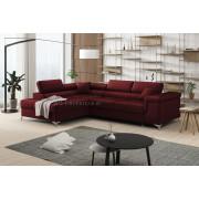 ERIC - Matt Velvet 68 - Corner Sofa Bed
