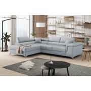 ERIC - Matt Velvet 83 - Corner Sofa Bed