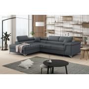 ERIC - Matt Velvet 93 - Corner Sofa Bed