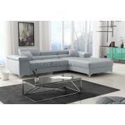 RICKY - Matt Velvet 83 -   Corner Sofa Bed