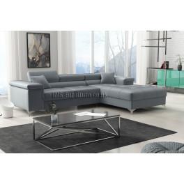 RICKY - Matt Velvet 85 -   Corner Sofa Bed