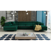 RODIGO - fabric  Monolith 37 - Corner Sofa Bed
