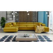 RODIGO - fabric  Monolith 48 - Corner Sofa Bed