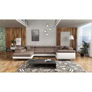 LUTON - Corner Sofa Bed