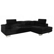 ANTONY - BLACK Sawana 14 - Corner Sofa Bed
