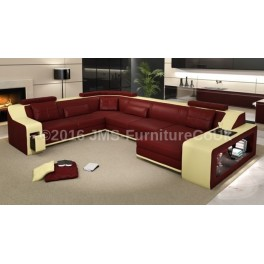 KAYENE 2 - Corner Sofa Bed with LED - JMS Furniture