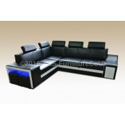 KORAL - Corner Sofa Bed  with LED