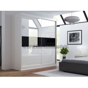 JACK __ Wardrobe with lacobel door