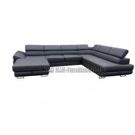 Malta U Shape Corner Sofa Bed Jms Furniture