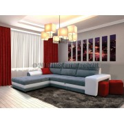 IBIZA - Corner sofa bed