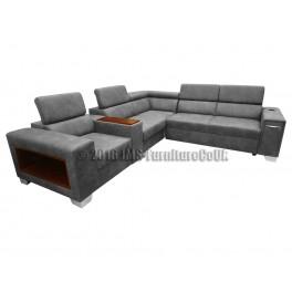 N-101  - Corner Sofa Bed