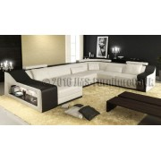 KAYENE 2 - Corner Sofa Bed with LED