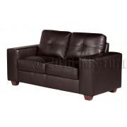 ROMANO  - 2 osobowa sofa - brąz