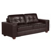 ROMANO  - 3 osobowa sofa - brąz