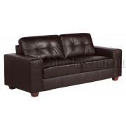 ROMANO - 3 Seater Sofa - Brown