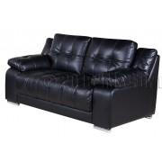 KOKO  - 2 osobowa sofa - czarna