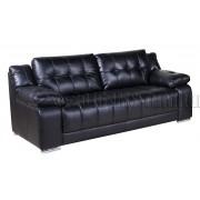 KOKO - 3 Seater Sofa - Black