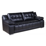 KOKO  - 3 osobowa sofa - czarna
