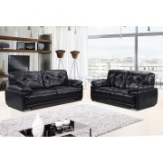 PATI - 3 Seater Sofa - Black