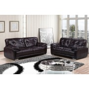 PATI - 3+2 Seater Sofa - Dark chocolate