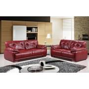 PATI  - 3 +2 osobowa sofa - czerwony