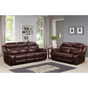 MILTON - 3+2 Seater Sofa - Russet