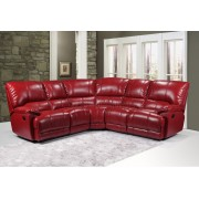 ERIK - Corner Sofa - Red