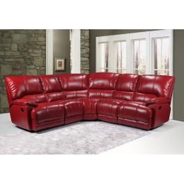 ERIK - Corner Sofa - Red - JMS Furniture