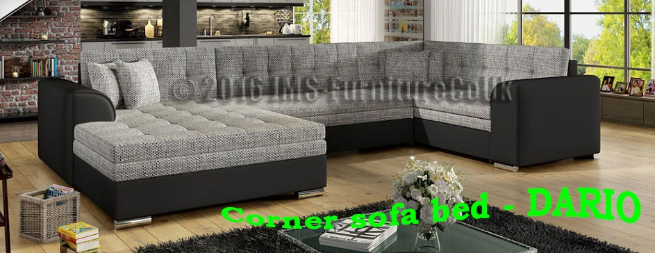 DARIO - corner sofa bed