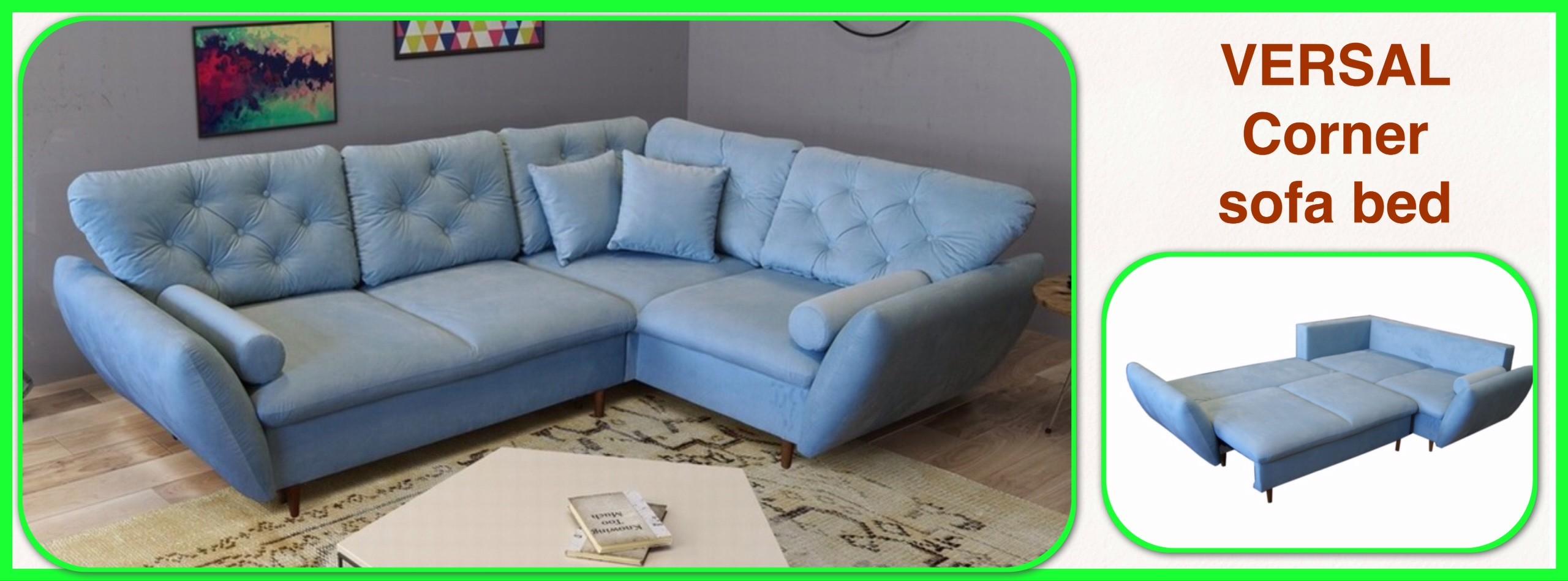 VERSAL  - Corner Sofa Bed